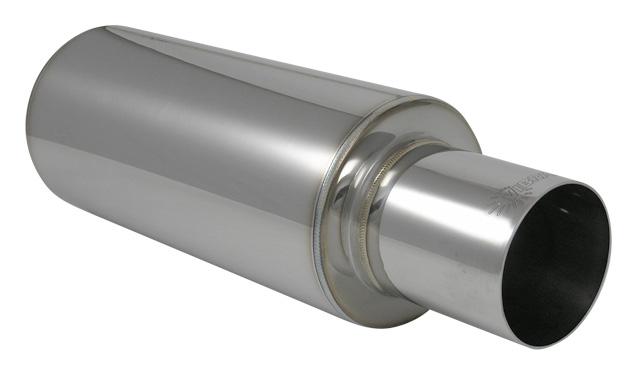 Vibrant 1057 4 Round Tip TPV Universal Muffler Vibrant Performance
