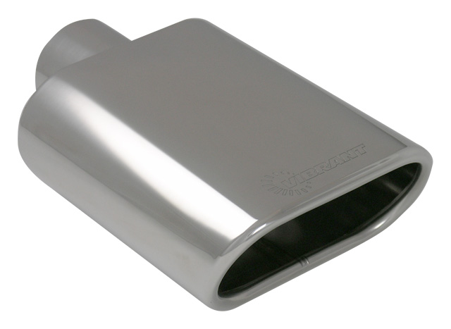 Oval Exhaust Tip: 2 25