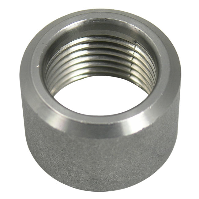Stainless Steel Threaded Couplers : Npt threaded half coupling stainless steel