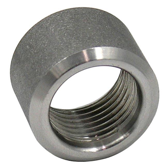 Npt Threaded Half Coupling Stainless Steel