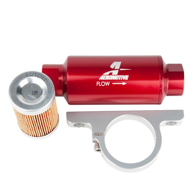 fuel filter bracket aeromotive in line    fuel       filter    w mounting    bracket    orb 10 fuel filter bracket bolts aeromotive in line    fuel       filter    w mounting    bracket    orb 10