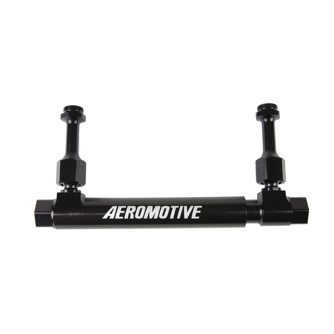 Aeromotive Dual Action Adjustable Fuel Log - Holley 4150/4500 Style Float Bowls
