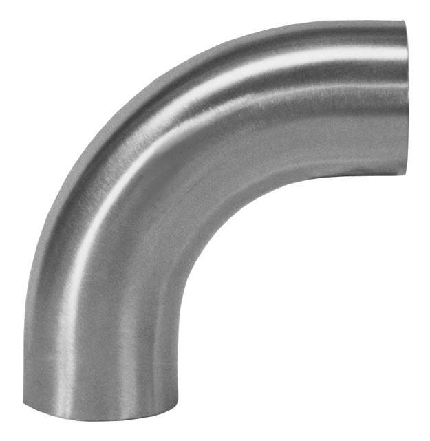 Weld fittings degree elbows w tangents a