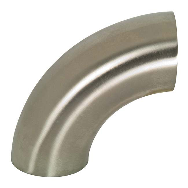 90 Degree Buttweld Elbows, Stainless Steel