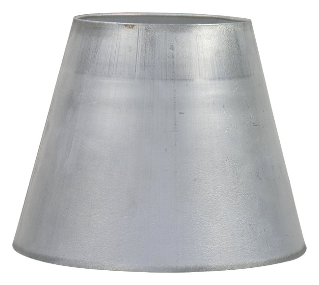 Exhaust reducer stainless steel or aluminum conical