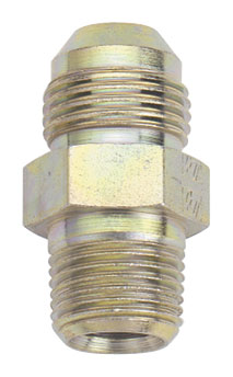 Fragola Steel AN x NPT Adapter - Straight (Male to Male)