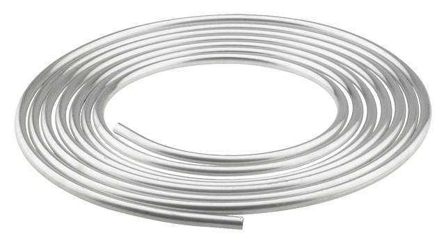 Aluminum Tubing: Fragola 3003 Aluminum Coiled Tube, 25' Long