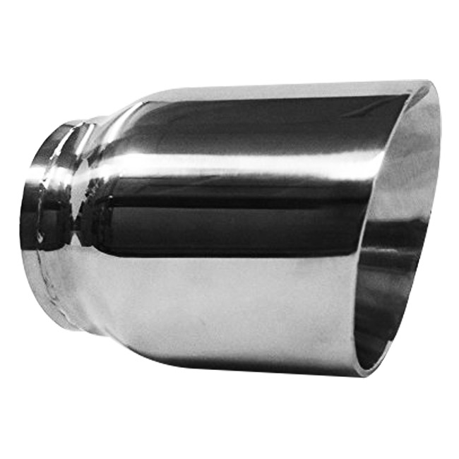 Jones Stainless Steel Exhaust Tip, Double Wall Slant - 3