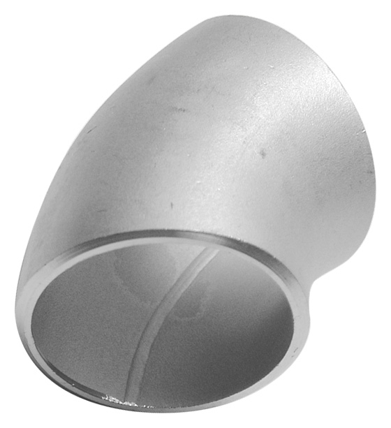Schedule 10 45 Degree Butt Weld Pipe Fittings Stainless Steel