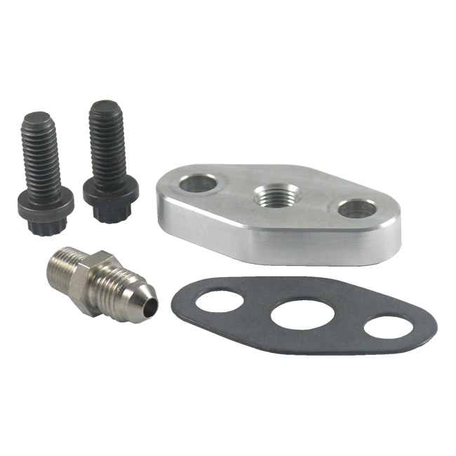 Precision Turbo Restrictor: Turbo Oil Feed And Drain Flanges