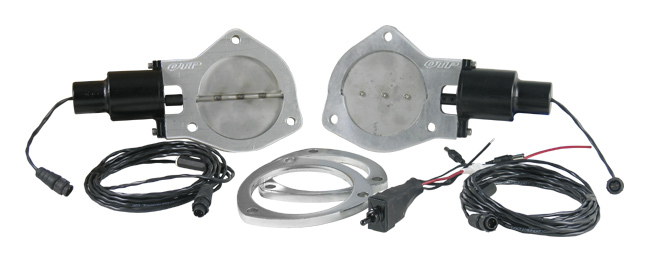Qtp Qtec 4 Electric Exhaust Cutout W Flange Dual Kit Quick Time