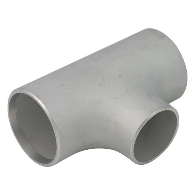 Schedule reducing tee butt weld pipe fittings