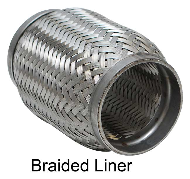 Steel Coupler For Exaust : Stainless steel flexible exhaust couplings vibrant