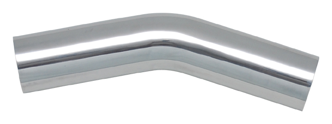 Vibrant Polished Aluminum Bends - 30 Degree