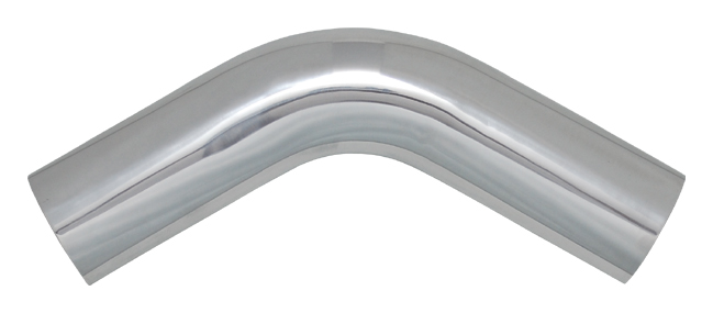 Vibrant Polished Aluminum Bends - 60 Degree