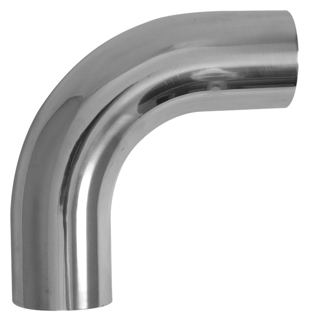 Vibrant Polished Aluminum 90 Degree Bend Elbows