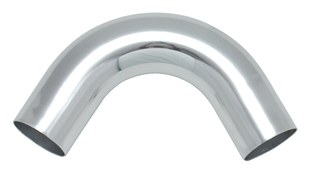 Vibrant Polished Aluminum Bends - 120 Degree