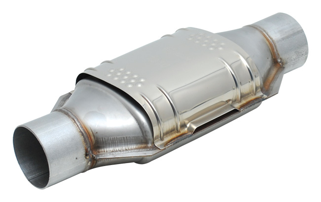 Stainless steel strip catalytic converters