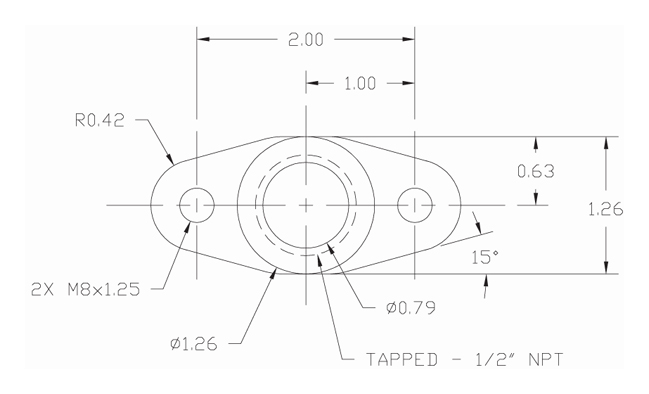 how to make a drain flange