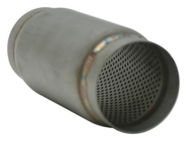 """17695 Vibrant 3.0/"""" Stainless Steel Race Muffler Bullet"""