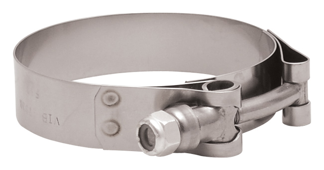 Vibrant Performance 17195 Stainless Steel Cushion P-Clamp
