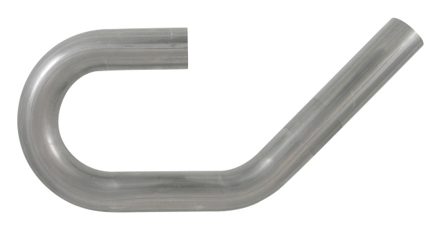 "Aluminized Mild Steel U-J Mandrel Bent Tubing Vibrant Performance 12605 2/"" O.D"