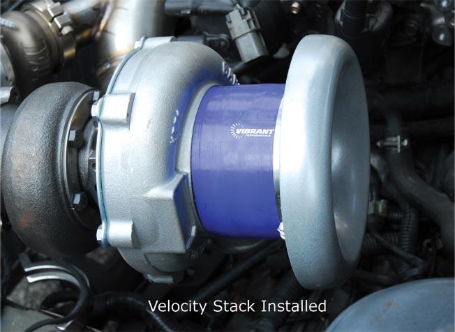 Turbo Velocity Stacks Vibrant Bellmouth Velocity Stacks