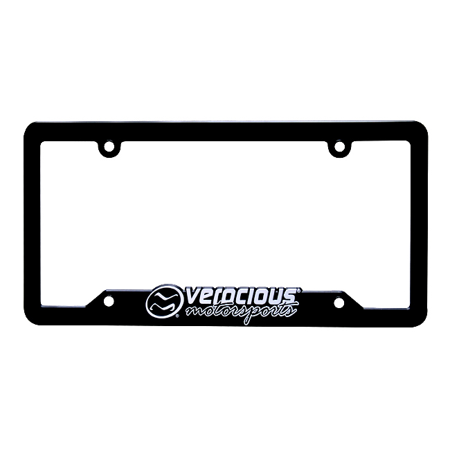 Verocious Motorsports License Plate Frame